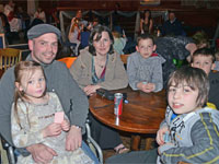 One of our families at respite